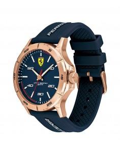 שעון יד אנלוגי כחול מבית פרארי