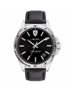 שעון יד אנלוגי PILOTA עור מבית פרארי