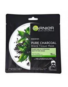 גרנייה - מסיכת בד פחם טהור תה