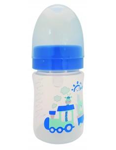 """בייבי ליין - בקבוק האכלה לתינוק 160מ""""ל - תכלת"""