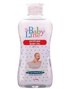 """בייבי ליין - שמן תינוקות 400מ""""ל"""