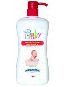 """בייבי ליין - אל סבון לתינוק 750מ""""ל"""