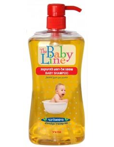 """בייבי ליין - שמפו אל דמע לתינוק 750מ""""ל"""