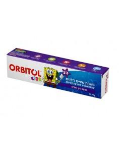 אורביטול - בוב ספוג משחת שיניים ילדים 70גר