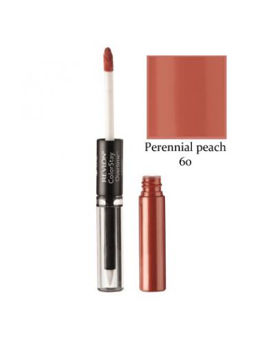 שפתון גלוס עמיד perennial peach מבית רבלון