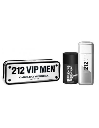 מארז 212 VIP לגבר: בושם 100מל אדט + אפטר שייב 100מל