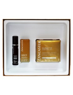 מארז לטיפוח העור Suractif Comfort Lift  - קרם לחות + קרם עיניים + סרום מבית לנקסטר