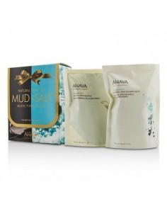 MUD & SALT - בוץ טבעי מים המלח + מלח אבמט טבעי מים המלח AHAVA