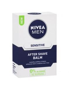 NIVEA - אפטר שייב קרם לעור רגיש ללא אלכוהול 100מל