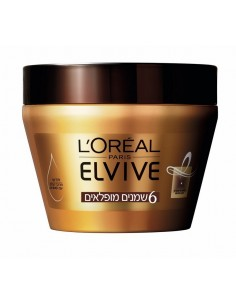 LOREAL ELVIVE - מסכת קרם 6 שמנים מופלאים לשיער יבש / יבש מאוד