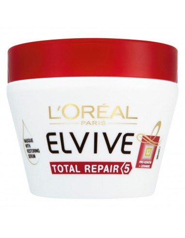 LOREAL ELVIVE - מסכת שיער מרוכזת לטיפול אינטנסיבי לשיער פגום