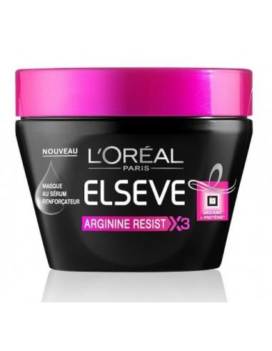 LOREAL ELVIVE ARGININE RESIST X3 - מסכת הזנה לחיזוק סיב השערה