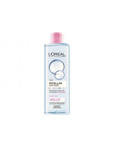 LOREAL - מים מיסרליים לעור רגיל עד יבש / ועור רגיש
