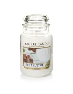 Shea Butter - ניחוח חמאת שיאה, בשילוב ברגמוט, מאסק לבן- Yankee Candle