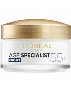 לוריאל - Age Specialist +55 קרם לילה אנטי אייג'ינג (טסטר)