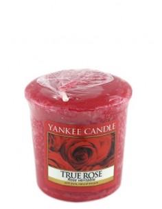 True Rose Votive Candles- ינקי קנדל