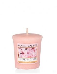 Cherry Blossom Votive Candles - ינקי קנדל