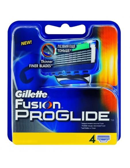 מארז 4 סכיני גילוח Gillette Fusion Proglide
