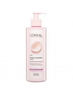 לוריאל - FINE FLOWERS חלב פנים לעור יבש ורגיש
