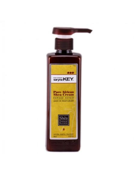 Pure African Shea cream חמאת הזנה לשיער יבש ופגום