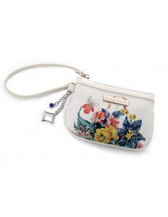 בלוסטון - תיק ערב אלגנטי bluestone Flowers clutch