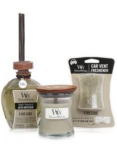 WOODWICK - מארז מתנה מהודר ומטריף בריח LINEN