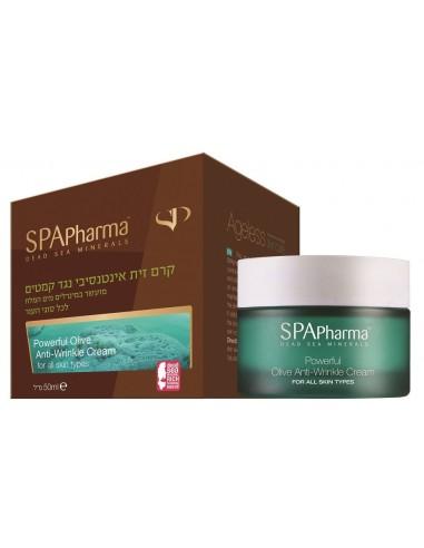 קרם זית אינטנסיבי לכל סוגי העור SPA Pharma ריכוז גבוה של שמן זית טהור ושמן ארגן