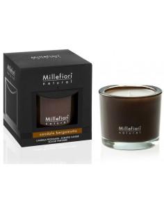 Millefiori Milano - נר אווירה יוקרתי Sandalo Bergamotto