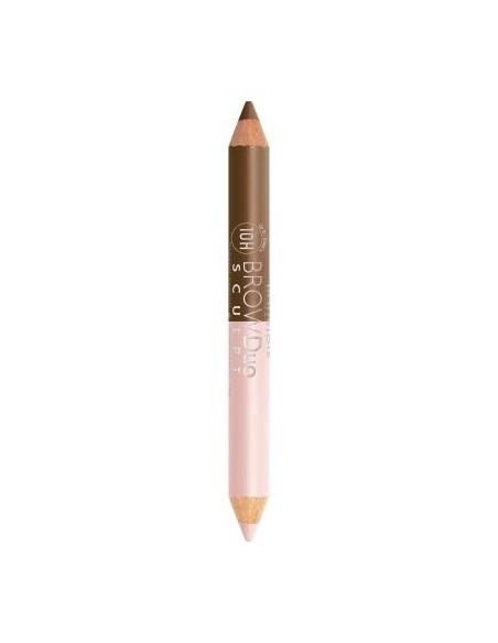 ברוז'ואה - עפרון גבות היילטר דו צדדי 21