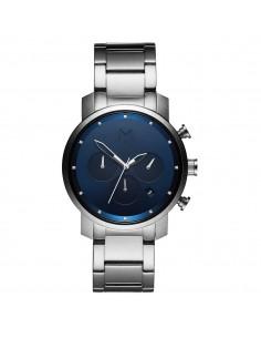 MVMT - שעון יד CHRONO NAVY SILVER